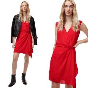 ARITZIA TALULA | Moto Wrap Dress